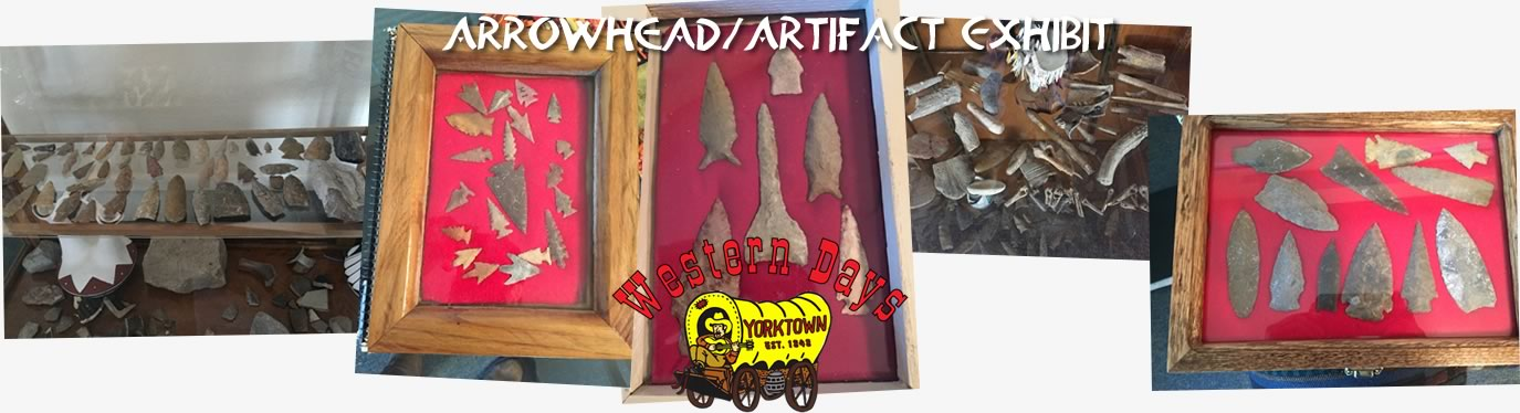 Arrowhead Artifact Exhibit at Western Days