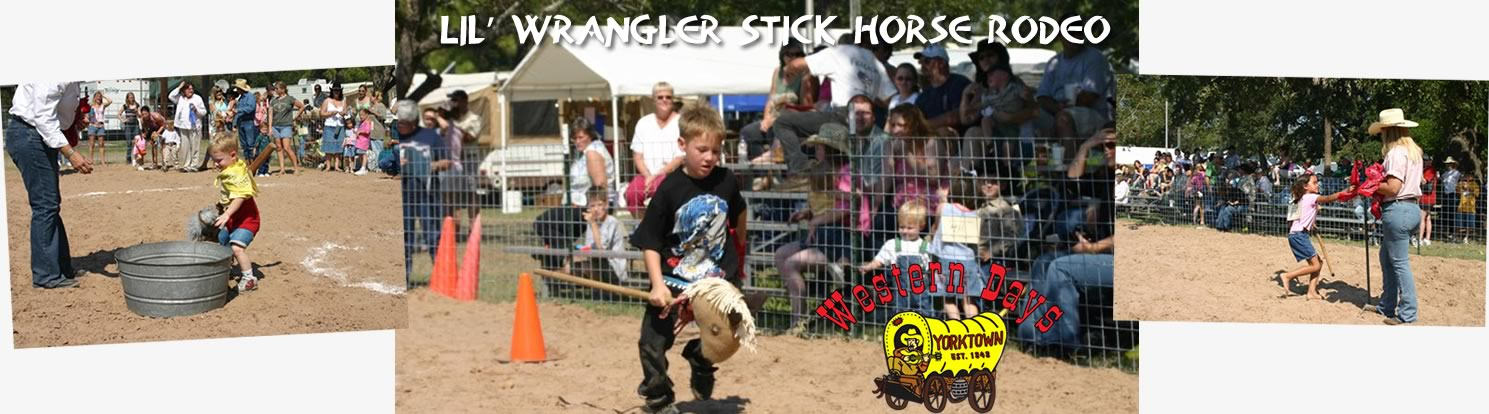 Stick Horse Contest at Western days