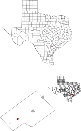 Yorktown Texas Demographics and Geography